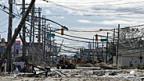 Hunderttausende sind noch immer ohne Strom: Hoboken, New Jersey