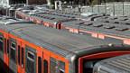 Alle Züge standen still - im Norden Athens am 6. November.