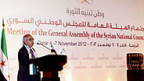 An der Generalversammlung des syrischen Nationalrats in Katar.