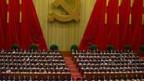 Kurz vor der Eröffnung des 18. Parteikongresses am 8. November 2012