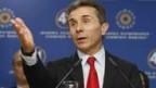 Kaum im Amt, schon unter Beschuss: Staatspräsident Bidzina Ivanishvili