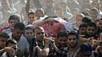 Beisetzung des Hamas-Militärchefs Jabari in Gaza Stadt.