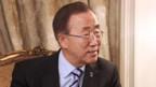 Ban Ki Moon will Eskalation vermeiden