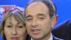 Jean-François Copé unmittelbar nach seiner Wahl als neuer UMP-Chef