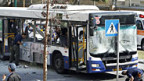 Mitten in Tel Aviv ist in einem Bus eine Bombe explodiert.