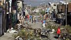 Schäden, die Hurrican Sandy in Santiago de Cuba angerichtet hat.