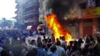 Proteststurm auf die Büros der Moslembrüder in Alexandria