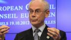 Ratspräsident Herman Van Rompuy wollte das Budget nicht weiter kürzen.