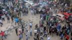 Auch vor dem obersten Gericht in Kairo versammelten sich am Samstag Demonstranten.