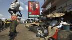 Kurz vor den Wahlen in Ghanas Hauptstadt Accra