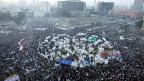 Proteste auf dem Tahrirplatz in Kairo Ende November - und auch am Dienstag wieder.