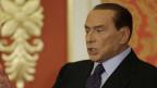 Silvio Berlusconi während einer Pressekonferenz im Oktober 2012.