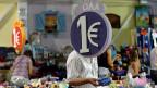 Ein-Euro-Shops werden in Athen weiterhin florieren - trotz der Milliardenhilfe aus dem EFSF-Rettungsschirm
