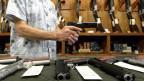 Waffen sind in den USA leicht erhältlich.