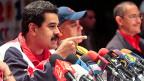 Nicolas Maduro ist Hugo Chavez' Wunschnachfolger. Die venezolanische Armee sieht das anders.