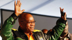 Jacob Zuma am 16. Dezember am ANC-Kongress in Bloemfontein.