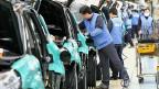 Südkoreas Wirtschaftsriesen haben grossen Einfluss auf die Politik. Produktionshalle des Autokonzerns Hyundai.
