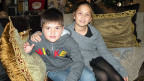 Dimos und seine Schwester Dirki