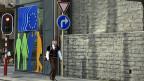 Ein Schweizer wandern »gegen den Strom» durch Brüssel, dem Herzen der EU.