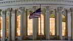 Im Kapitol in Washinton werden die Lichter auch am letzten Tag des Jahres lange brennen.