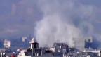 Blick auf die syrische Hauptstadt Damaskus; ein Ende des Bürgerkriegs ist nicht abzusehen.