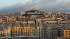 Sicht auf Marseille