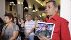 In Venezuela beten Chavez-Anhänger für den Comandante Presidente.