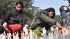 Die Menschen in Indien fordern harte Strafen für die Täter.