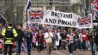 Proteste vom Wochenende in Belfast.