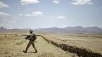 US Marine in der Nähe der Stadt Golestan in Afghanistan.