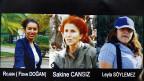 Die drei in Paris ermordeten Kurdinnen.