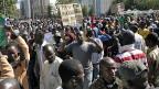 In Bamako gab es bereits im Dezember 2012 Demonstrationen mit der Forderung nach internationaler Hilfe für Mali.