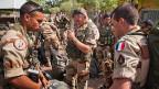 Französische Truppen bereiten sich in Tschad auf ihren Einsatz in Mali vor.