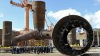 Seit 2009 werden in der Werft von Emden Offshore-Windanlagen gebaut.