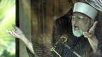Der Geistliche Tahir Qadri spricht am 15. Januar in Islamabad zu seinen AnhängerInnen.
