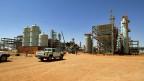 Dieses Gasfeld im Südosten Algeriens haben islamistische Extremisten überfallen.