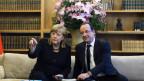Angel Merkel und François Hollande