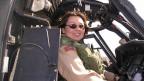 Helikopterpilotin Tammy Duckworth im Irak-Einsatz.