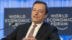 Mario Draghi, Präsident der Europäischen Zentralbank, am WEF Davos 2013.