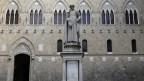Hauptquartier der Banca Monte dei Paschi in Siena.