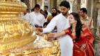 Bollywood-Paar Abhishek Bachchan und Aishwarya Rai