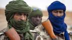 Tschadische Soldaten unterstützen den Kampf gegen die islamistischen Rebellen im Norden Malis.