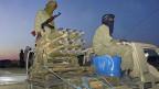 Tuareg-Rebellen mit Waffen aus Libyen, unterwegsim Norden Malis im April 2012.