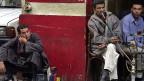 Die ägyptische Bevölkerung leidet unter Arbeitslosigkeit und immer schwächerer Währung; Strasse in Kairo.