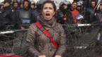 Ägypterin protestiert gegen die Regierung Mursi.
