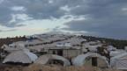 Flüchtlingslager in Syrien.