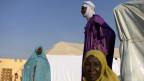 Flüchtlinge in Bamanko, Mali.