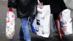 Kein Einkauf ohne Plastiksack