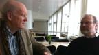 Franz Hohler und Carlo Knöpfel im Gespräch