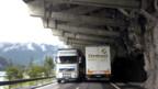 Schwerverkehr auf Schweizer Alpenstrassen nimmt zu.